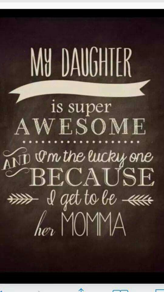Happy National Daughter's Day!  So proud to be your Mom!