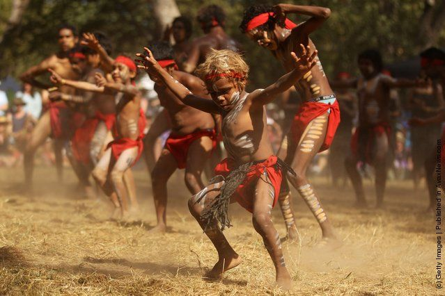 Laura Aboriginal Dance Festival (19th Jun 2015) A Spiritual adornment  #laura #aboriginal