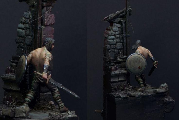 Aran, the Barbarian - Deep in the Dungeon