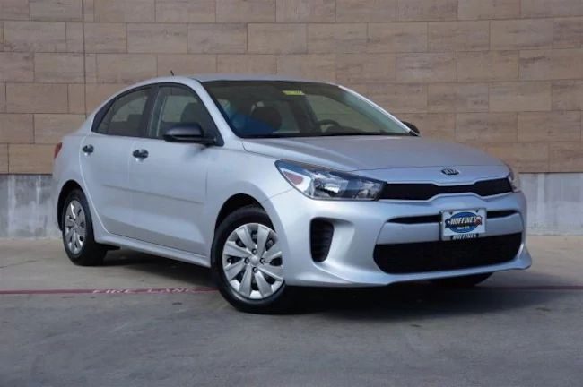 A 2018 #Kia #Rio LX Sedan would make a perfect gift for that certain someone! Come check out our inventory at Huffines Kia McKinney.