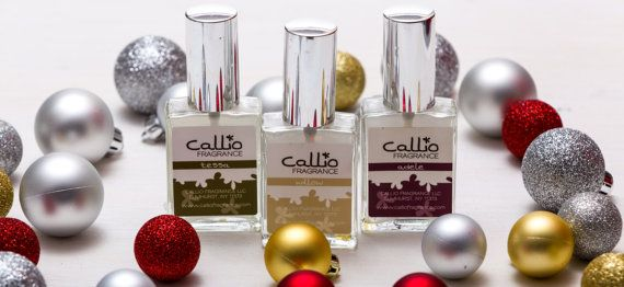 Perfume Gift Set gifts for her gifts under 100 by CallioFragrance