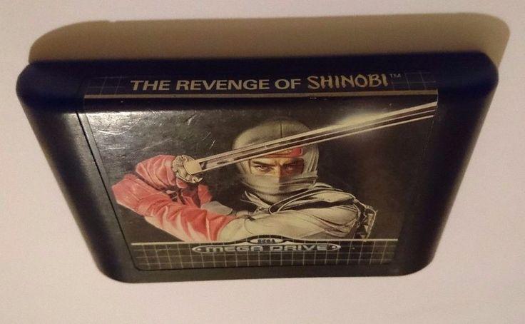 The Revenge of Shinobi for Sega Mega Drive TESTED
