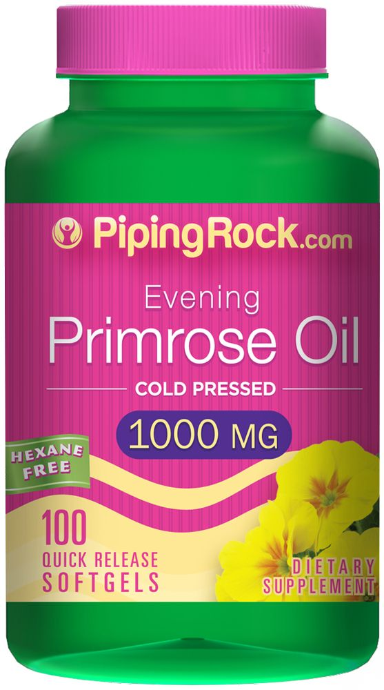 Buy Discounted Evening Primrose Oil 1000 mg 100 Softgels Vitamins & Supplements online at PipingRock.com