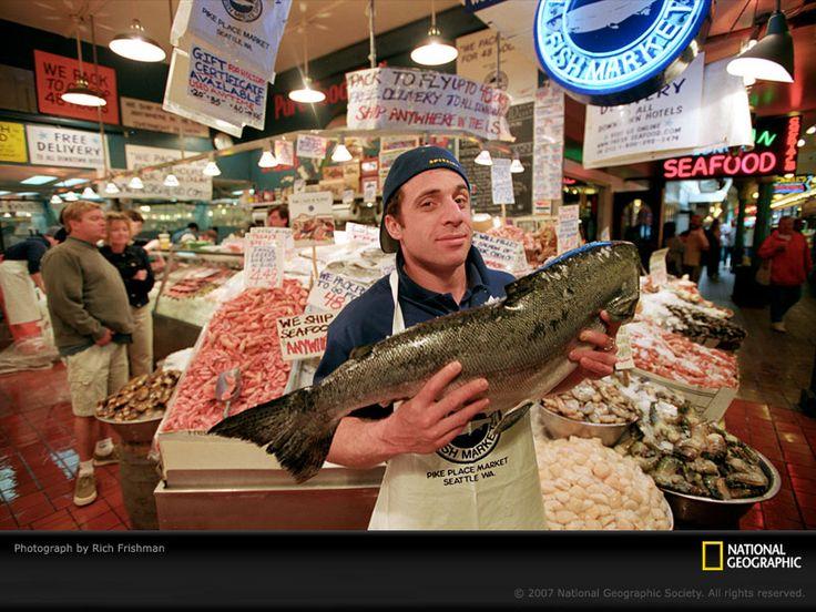 120 best fish market images on pinterest fishing flea for Washington fish market