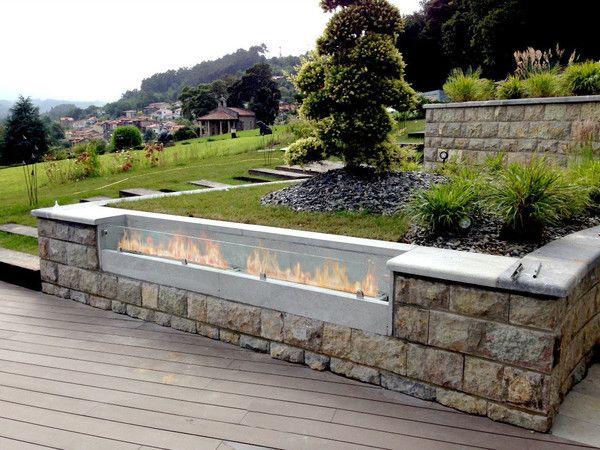 the bio flame 48 ethanol fireplace burner indoor outdoor ethanol fireplace the o 39 jays and. Black Bedroom Furniture Sets. Home Design Ideas