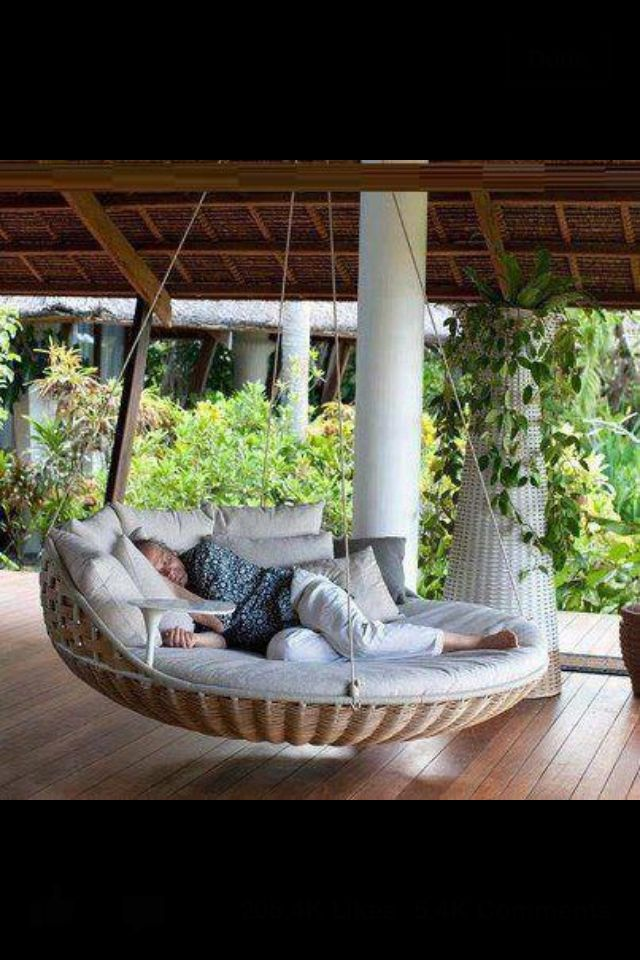 My Mister said he's making me a porch swing in the Spring... Would it be greedy to ask for this one??? :)