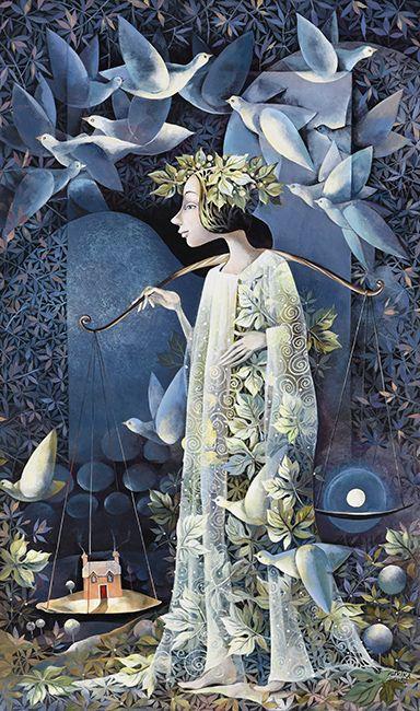 ANGELO SAPNAS / Dream of Angel  2015 by Aurika Piliponiene