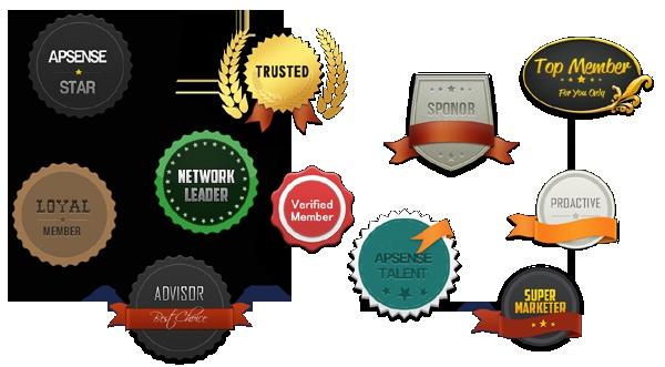 APSense Badges