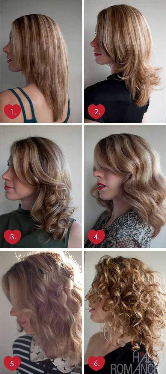 Are you tired of blow drying your hair straight? If so, The Beauty Thesis shows you 6 ways to blow dry your hair.