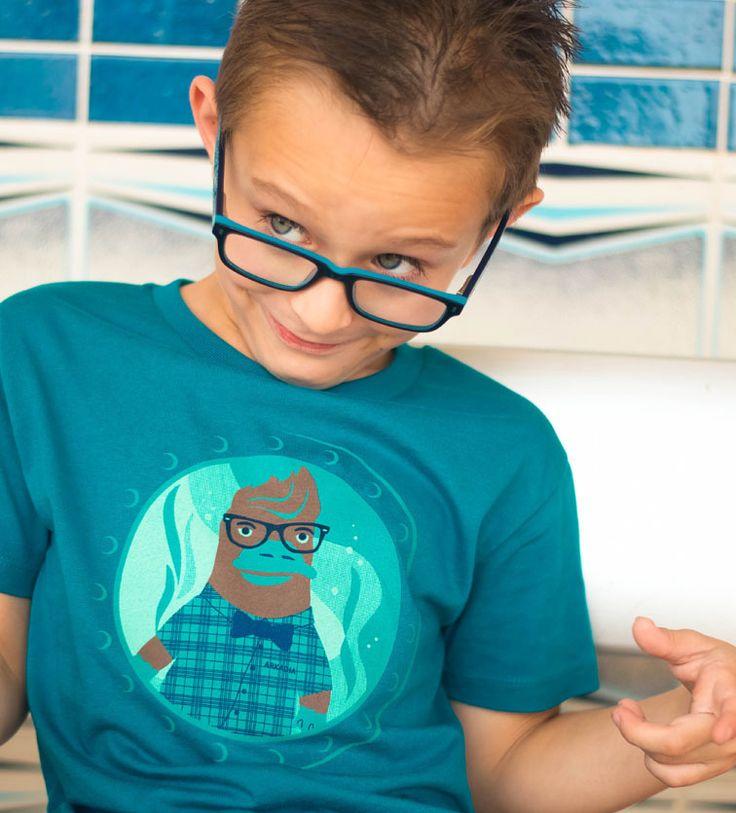 Hipster Plaidypus t-shirt design