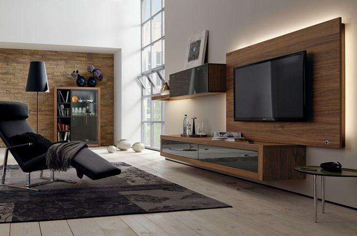 salon bien intégrer un écran tv marie claire maison écran tv salon ...