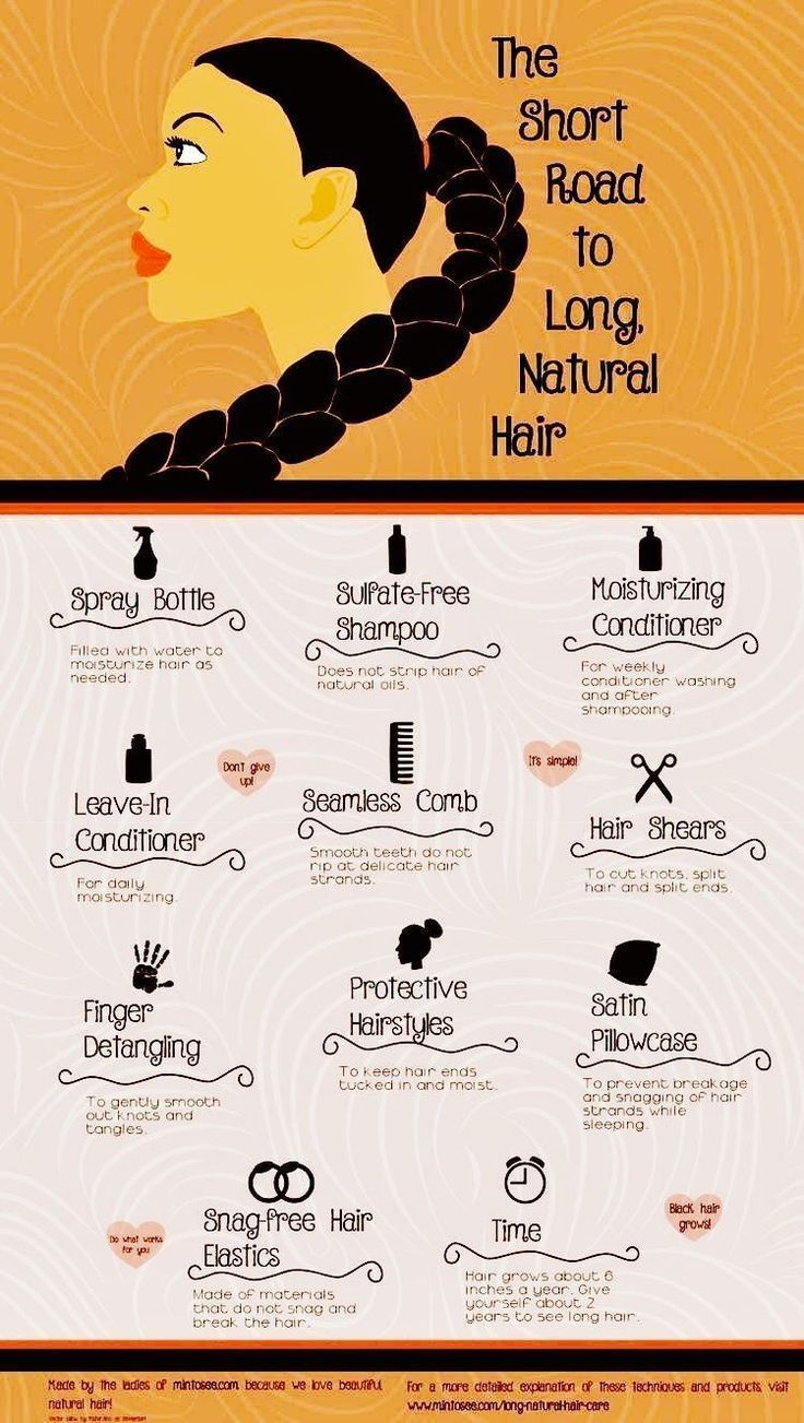 The way to get lengthy, pure African American hair. These hair care suggestions will present y