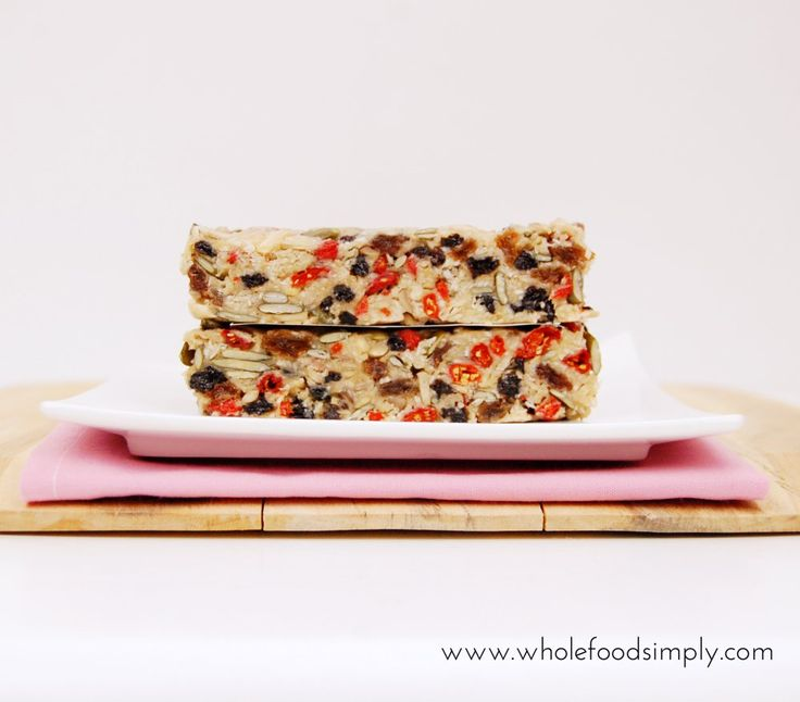 Mix and Make Muesli Bars. Quick. Easy. DELICIOUS! Perfect for snacks and school lunch boxes. Free from gluten, grains, dairy, egg, nuts and refined sugar.