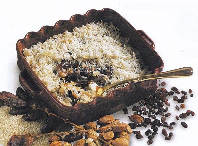Pikáns datolyás-mandulás rizs   Receptek   gasztroABC