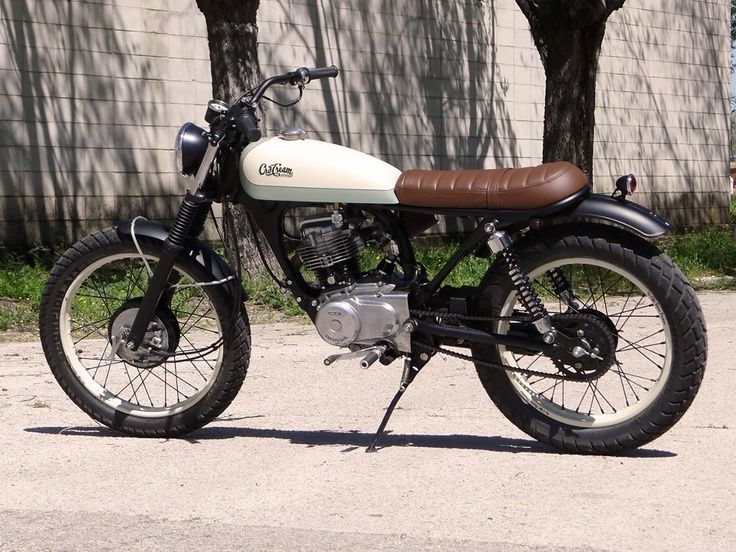 Fabuleux honda cg 125 stripped - Google Search | Bikes | Pinterest | Honda  CH18