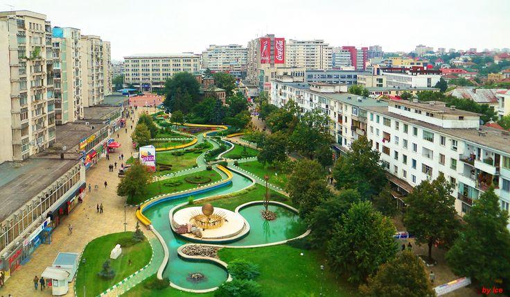 parcul din centrul Pitestiului