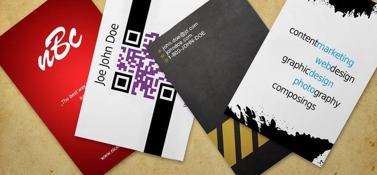 Come progettare biglietti da visita creativi in stile grunge/business