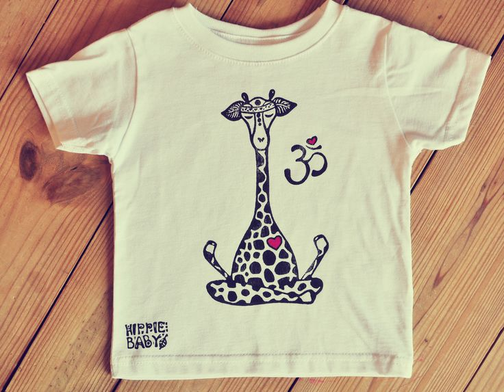 Giraffe Shirt, White Tee, Kids yoga shirt, Yoga baby outfit, Toddler shirt, Boho boy or girl, hipster baby gift, Om Tee, Little yogi shirt by HippieBabyCo on Etsy https://www.etsy.com/listing/514734454/giraffe-shirt-white-tee-kids-yoga-shirt
