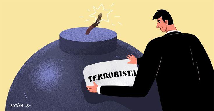 Cuando un delito es considerado terrorista, las penas son mayores.