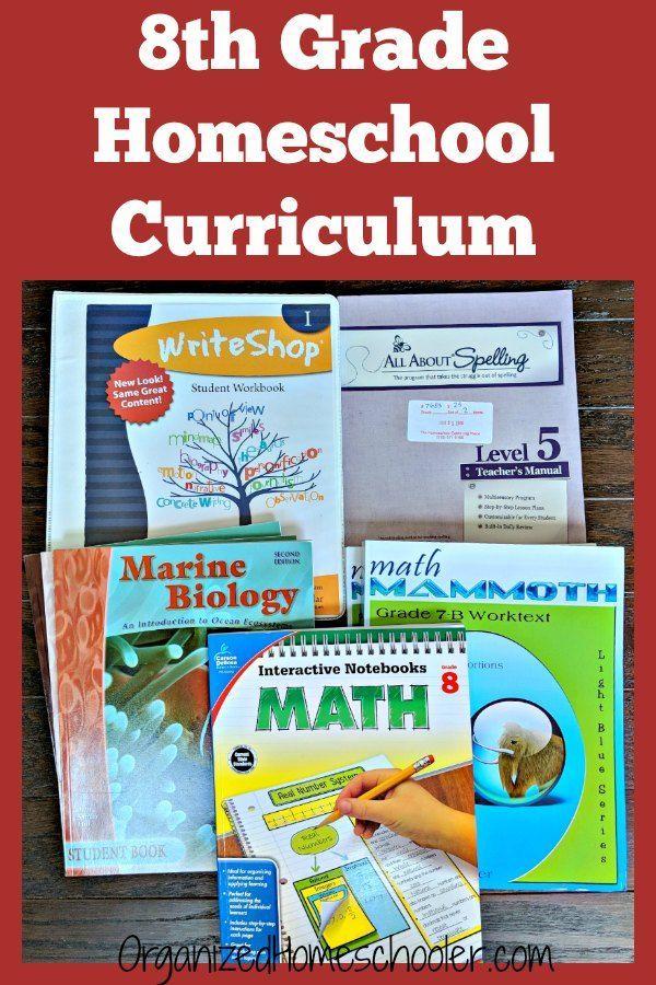 Rigorous eighth Grade Homeschool Curriculum