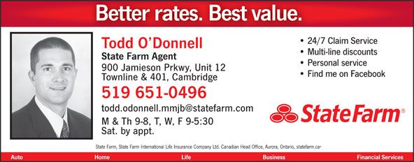 18 best Todd O'Donnell - State Farm Insurance images on ...