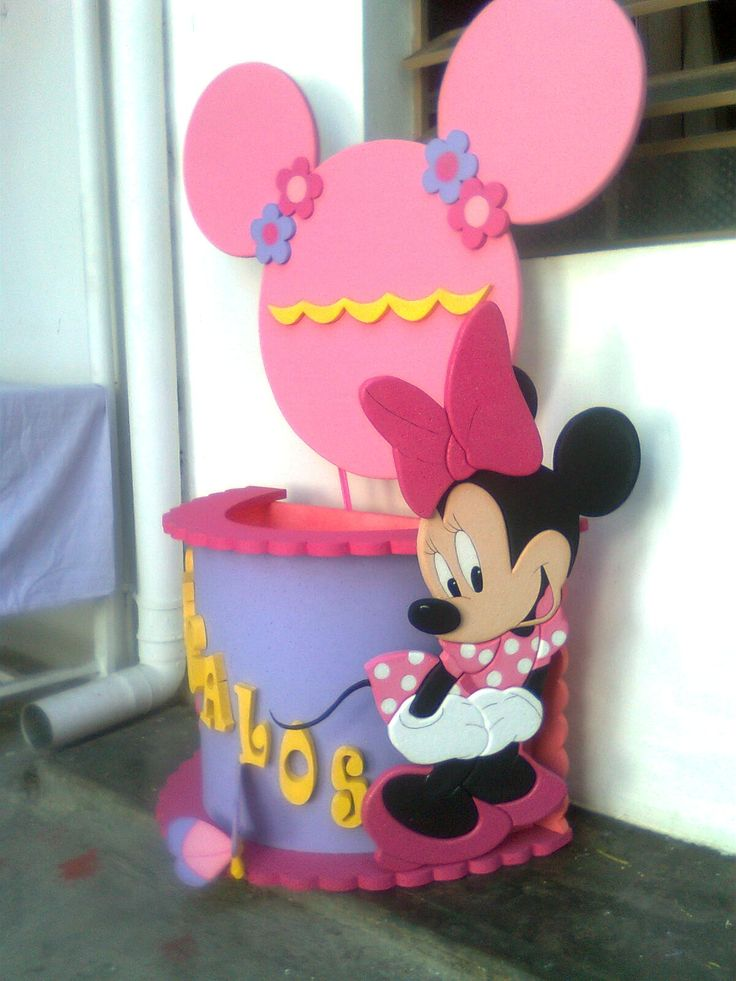 Minnie Mouse - FIESTAIDEAS.