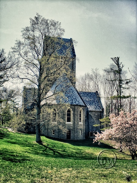 Kumler Chapel on the grounds of Miami University in Oxford, Ohio