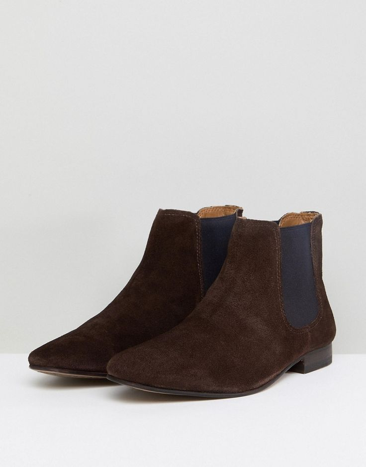 KG By Kurt Geiger Suede Chelsea Boots - Brown