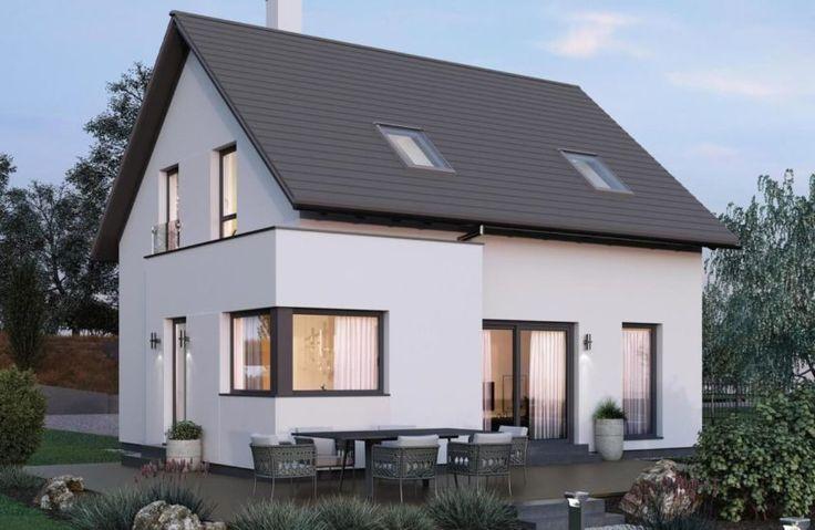Einfamilienhaus SH 124 VARIANTE B mit Satteldach