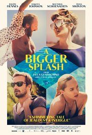 A Bigger Splash Poster. An excellant surprise find. Enjoyed this very much.