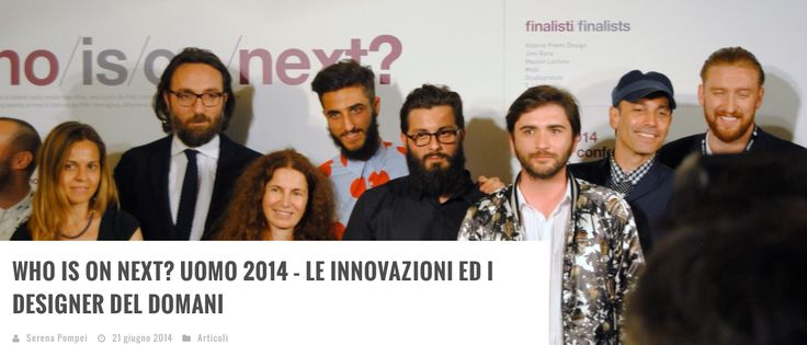 Our designer Luca Bellei during Who is on Next? A contest promoted by Vogue Italia , Pitti Uomo , Altaroma Fashion Show