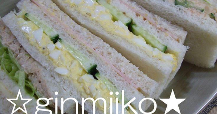 学生時代、パン屋さんでサンドイッチを作っていました。 今回は卵サンドのご紹介です♪ シンプルだけどしっかり美味しい (๑→‿ฺ←๑) ツナサンド編、野菜サンド編、エビフライサンド編もよろしくおねがいします!