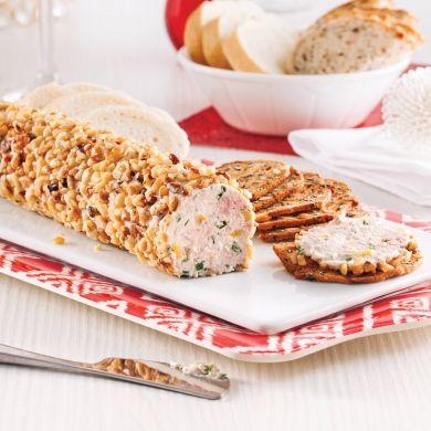 Tartinade au fromage à la crème, jambon et noix - Recettes - Cuisine et nutrition - Pratico Pratiques