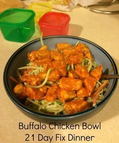 How fast can I make dinner tonight? How many times have you said that out loud? Quick, easy, and healthy is how I like my food so here's a new favorite dinner around here. And since portion control is one of my weaknesses, I use the 21 Day Fix containers to measure out the perfect … fast dinners fast dinner recipes #recipe #dinner