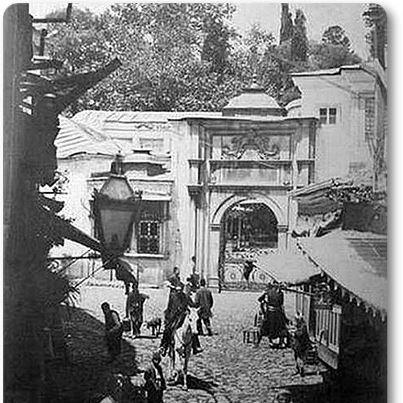 Eyüp Sultan, 1880 ler