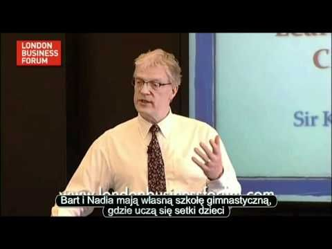 ▶ Sir Ken Robinson - Indywidualna Kreatywność - YouTube
