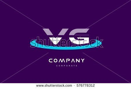 vg v g cyan magenta blue letter combination alphabet vector company logo icon sign design template