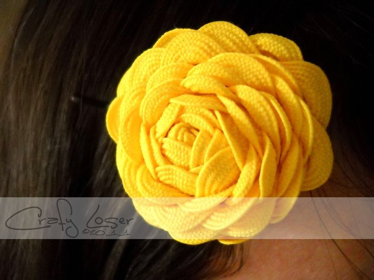 crafts with ric rac | Ric Rac Flower by ~CraftyLoser on deviantART