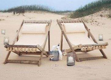 Montauk Beach Chair - tropical - outdoor chairs - other metro - Soft Surroundings