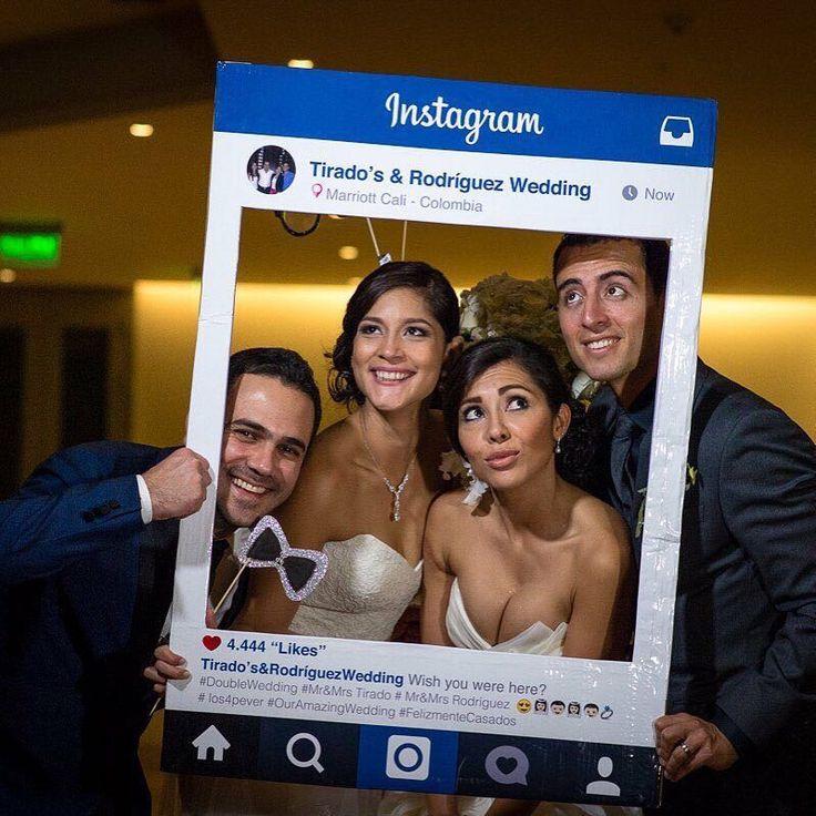 Marco De Instagram Para Fotos Props Photo Booth Por
