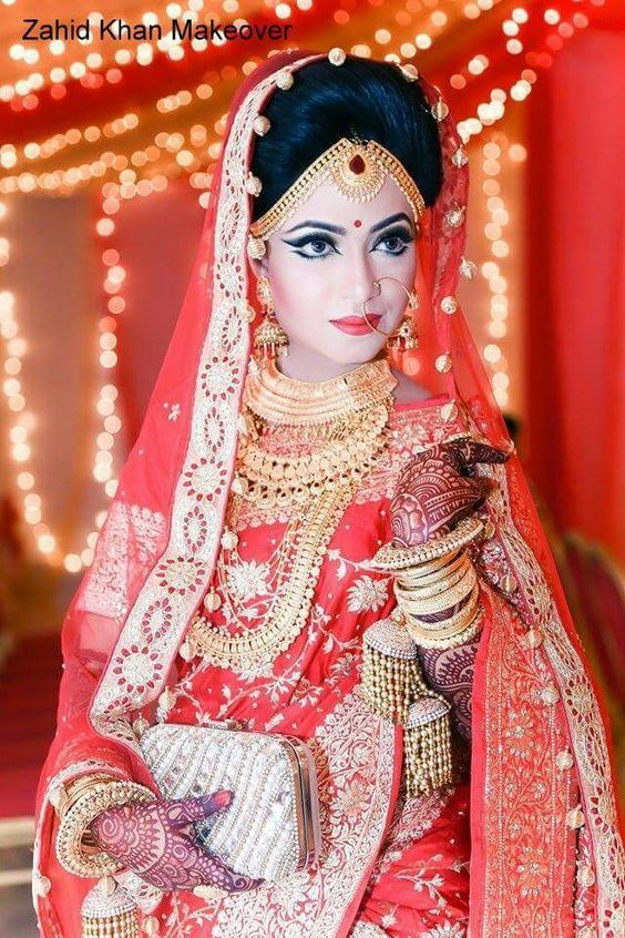 The 25 Best Bengali Bridal Makeup Ideas On Pinterest