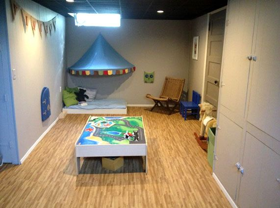 21 best images about basement flooring ideas on pinterest for Playroom floor ideas