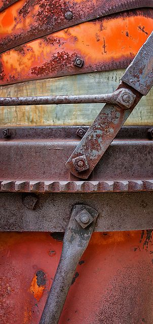 Rust (not so) Working Parts by dbpeterson723