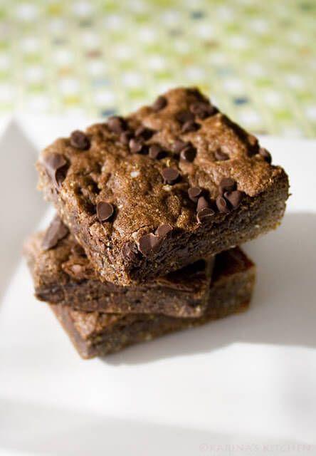 Gluten Free Chocolate Quinoa Brownies Recipe plus 29 more gluten-free quinoa dessert recipes