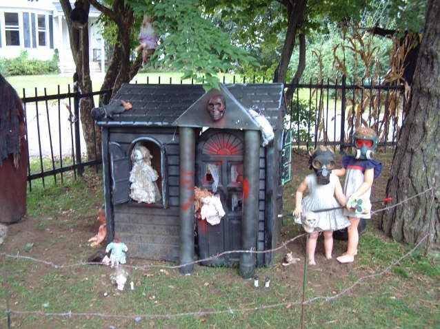 dollhouse of doom - I'm doing our playhouse as a witch's ...