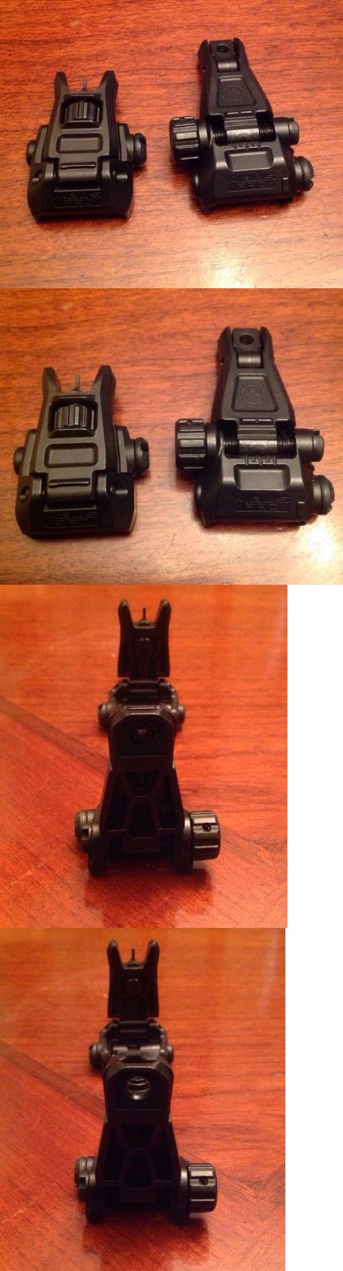 Other Hunting Scopes and Optics 7307: Magpul Mbus Pro Front And Rear Flip Up Backup Sight Set New Without Original Box -> BUY IT NOW ONLY: $139.99 on eBay!