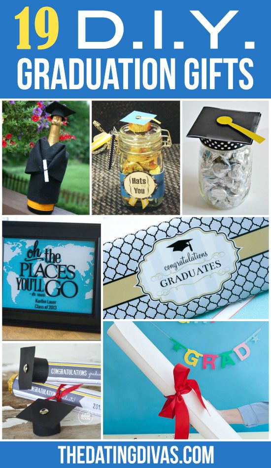 19 DIY Graduation Gifts! So CUTE!! I love this post from The Dating Divas!