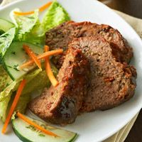 Mediterranean Meat Loaf: Low Carb With Use Of Frozen Egg Product & 95% Lean Ground Beef.
