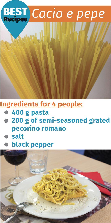 Cacio e pepe – Pasta Cheese and Pepper