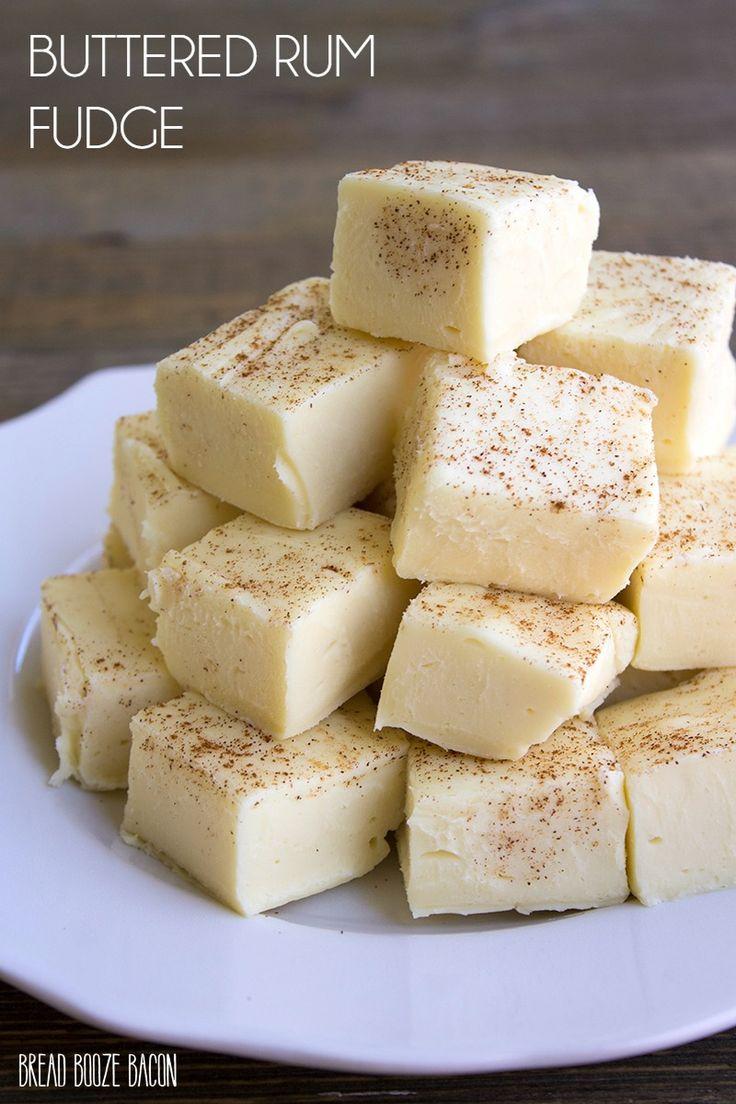Buttered Rum Fudge